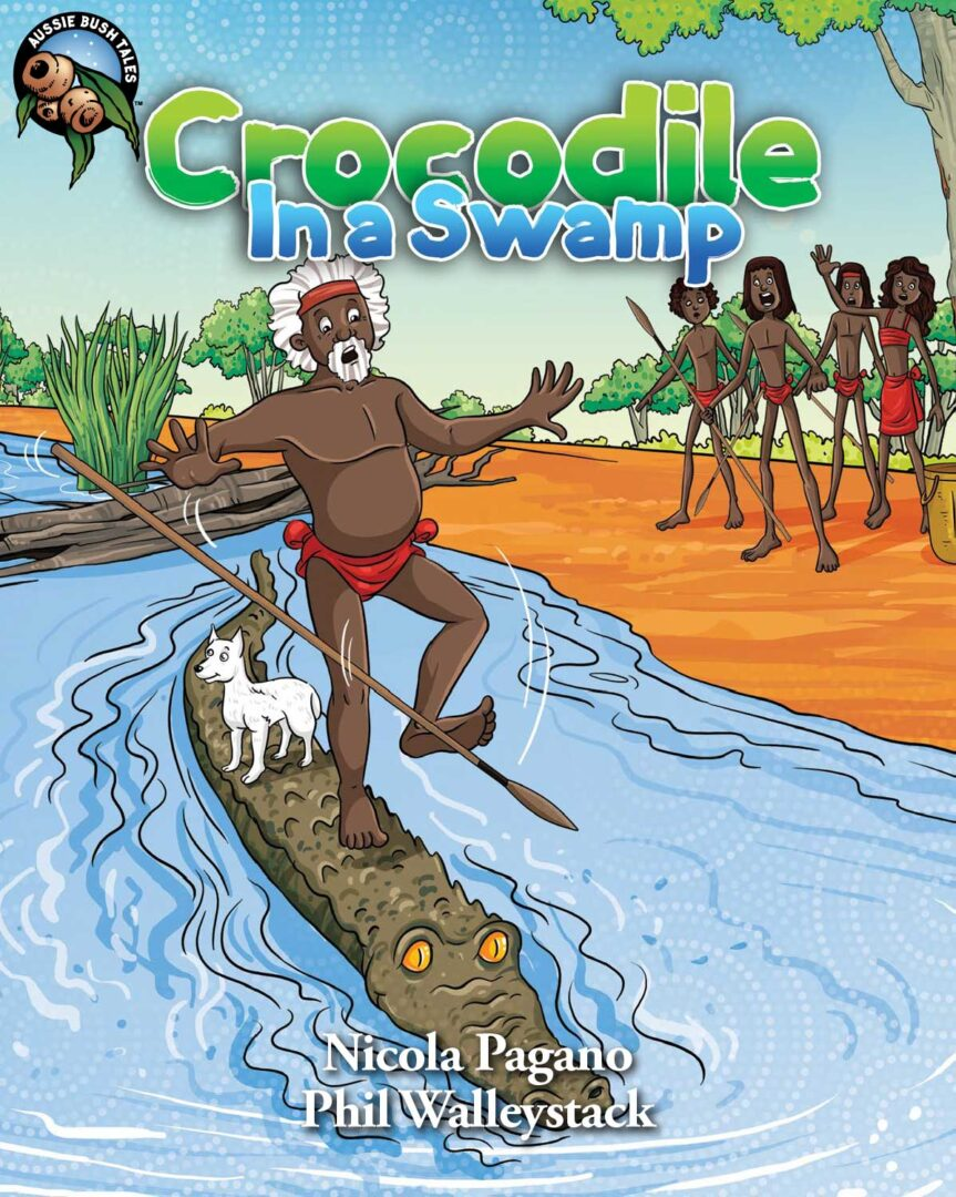 Crocodile In A Swamp Ebook