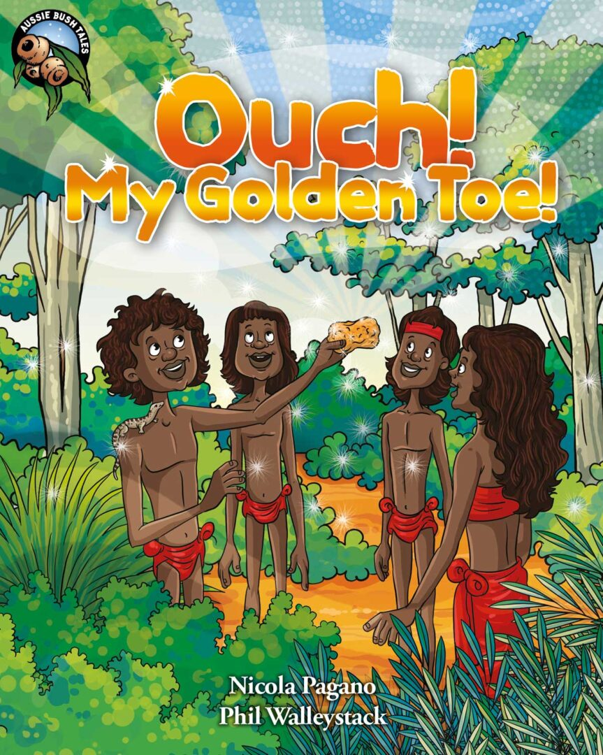 Ouch! My Golden Toe Ebook – One Teacher License