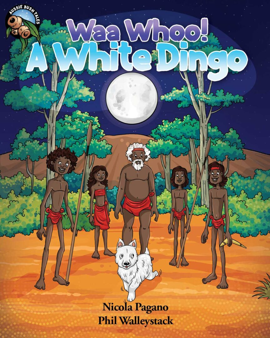 Waa Whoo A White Dingo Ebook