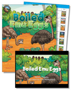 Boiled Emu Eggs Education Pack – One Teacher License