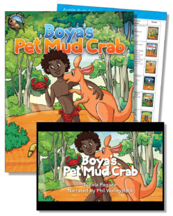 Boya's Pet Mud Crab Education Pack – One Teacher License