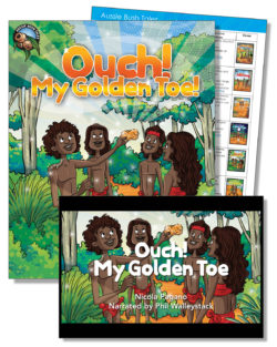 Ouch! My Golden Toe Education Pack – One Teacher License