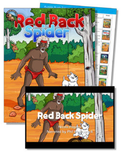 Red Back Spider Education Pack – One Teacher License